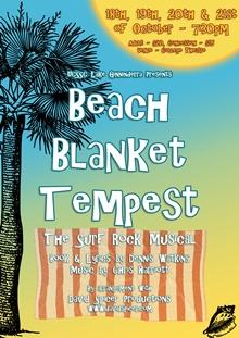 Beach Blanket Tempest poster